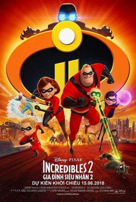 Xem phim Gia đình siêu nhân 2 – Incredibles 2 (2018)