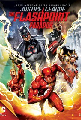 Xem phim Liên minh công lý: Nghịch lý tia chớp – Justice League: The Flashpoint Paradox (2013)