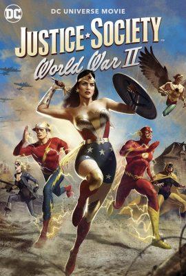 Xem phim Hiệp hội Công lý: Thế chiến thứ 2 – Justice Society: World War II (2021)