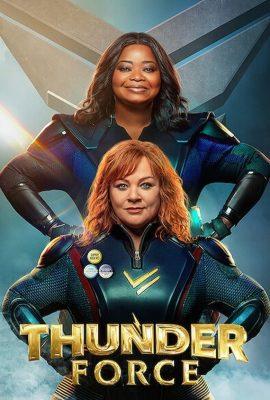 Xem phim Bộ Đôi Sấm Sét – Thunder Force (2021)