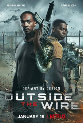 Xem phim Vùng Chiến Sự Nguy Hiểm – Outside The Wire (2021)