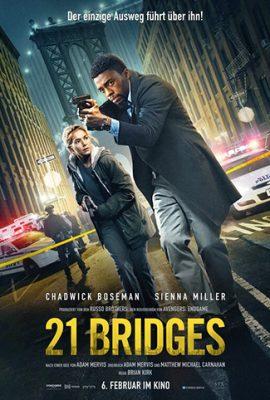 Xem phim 21 Cây Cầu – 21 Bridges (2019)