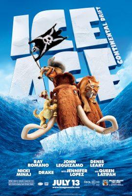 Xem phim Kỷ Băng Hà 4: Lục Địa Trôi Dạt – Ice Age: Continental Drift (2012)