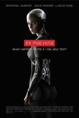 Xem phim Người máy trỗi dậy – Ex Machina (2014)