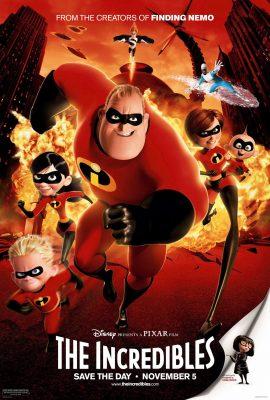Xem phim Gia đình siêu nhân – The Incredibles (2004)