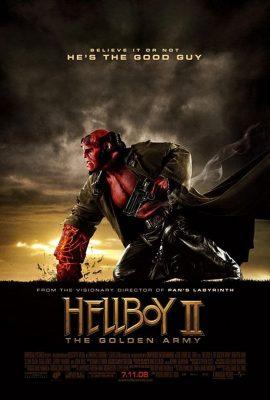 Xem phim Quỷ Đỏ 2: Binh Đoàn Địa Ngục – Hellboy II: The Golden Army (2008)