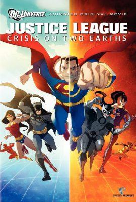 Xem phim Những siêu nhân công lý – Justice League: Crisis on Two Earths (2010)