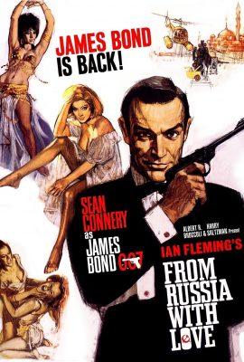 Xem phim Tình yêu đến từ nước Nga – From Russia with Love (1963)