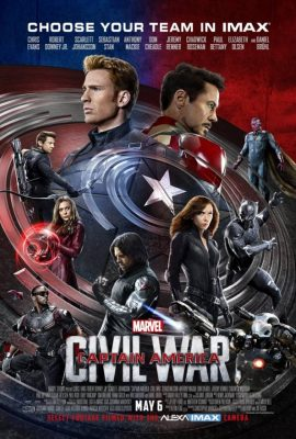 Xem phim Captain America: Nội Chiến Siêu Anh Hùng – Captain America: Civil War (2016)