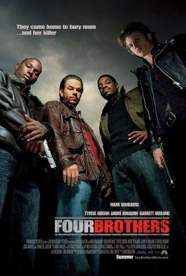 Xem phim Bốn Anh Em – Four Brothers (2005)
