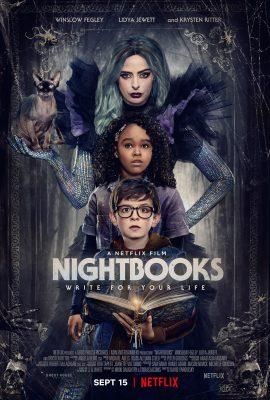 Chuyện Kinh Dị Đêm Nay – Nightbooks (2021)'s poster